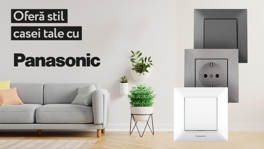 Ofera stil casei tale cu Panasonic